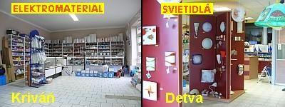 PS Elektro - predajne